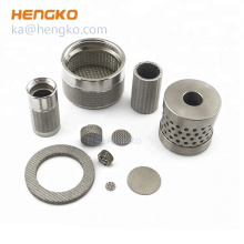 Multi-layer stainless steel 0.5 1 5 10 20 40 micron sintered mesh filter