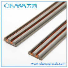 ABS &Copper Common Extrusion Parts OEM Factory