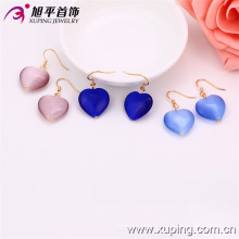 28871 xuping high quality sweet love heart charms earring for girlfriend