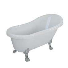 Freestanding Bathtub with Zinc Foot