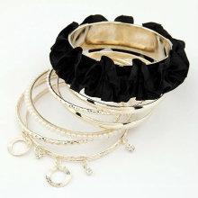 Fashion Fabric Multilayers Bracelets en dentelle Bracelets perles Bracelet BA42