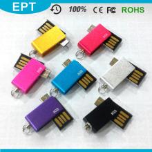 Unidad flash USB OTG de la capacidad total de la fábrica para el teléfono elegante