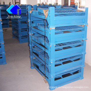 Jracking Warehouse Logistic Equipment plegable estante de metal