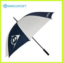 Parapluies carrés de golf blanc et bleu marine 68,5 cm 8k