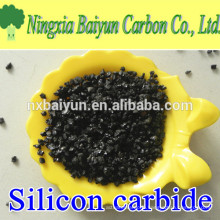 SiC 98.5% black silicon carbide grit for polishing and grinding