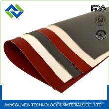 Rideau de tunnel de rétrécissement de fibre de verre de caoutchouc de silicone 0.45mm résistant à la chaleur