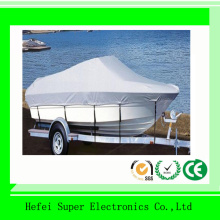 Oxford PVC Silver Polyster Material Boat Cover