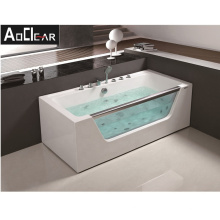 Aokeliya Air Bubble Massage Bathtubs with Jets and Bath Tub Led Lights