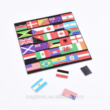 different cities or countries flag EVA fridge magnet stickers for kids educational toys