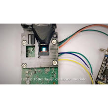 Sensores de medição de distância contínua RS232 / RS485 até 150 m