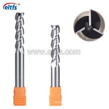 High Precision 3 Flute Tungsten Carbide End Mill for Aluminum Cutting
