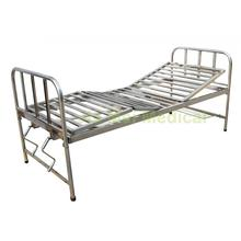 Stainless Steel Patient bed With 2 Cranks