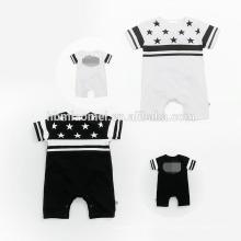 2017 оптовая печатным рисунком детская одежда комбинезон Baby подарок набор 4шт за комплект