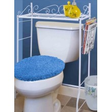Over the Toilet Stand Space Saver Design Metal Storage Organizer Rack
