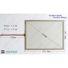 A5E00205799 KT18605 Remplacement de réparation de panneau d'écran tactile pour KTP1000