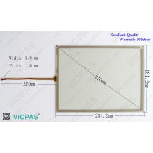 Tela de toque 6AV6545-0CC10-0AX0 TP270 10 painel de toque de vidro
