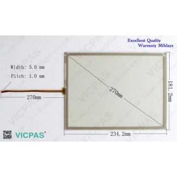AMT 2837 AMT2837 táctil de vidrio del panel de la pantalla para la reparación MP277-10