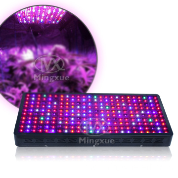 Dua suis kawalan veg / mekar LED Grow Light panel
