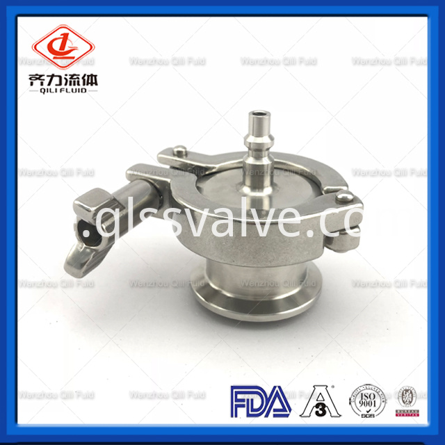 Sanitary Stainless Steel Air Blow Check Valve 1