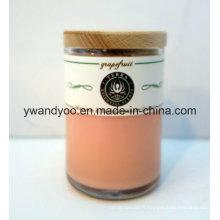 Bougie parfumée de cire de soja parfumée