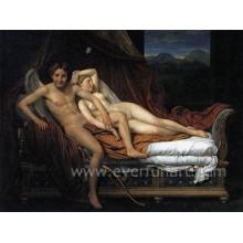Handmade profissional casal nua lona pintura a óleo Ebf-025