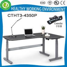 Мадрид горячая продажа электрический высота регулируемый рабочий стол & высокое качество регулируемая высота exectric офисный стол