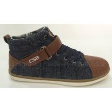 Комфорт с высоким верхним слоем джинсовой туфли