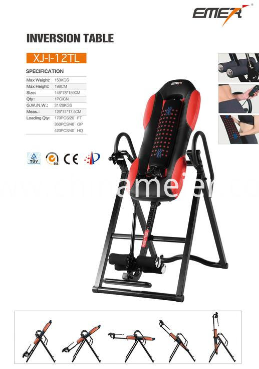 Inversion Table Sports & Entertainment