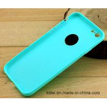 Cubierta suave de la caja del teléfono móvil del precio bajo para el iPhone 6