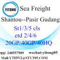 Internationalen Shiping von Shantou, Pasir Gudang