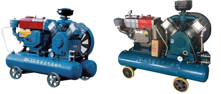 2V-DIESEL-AIR-COMPRESSOR