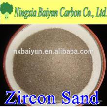 66% de areia de zircão australiana de alta pureza para refratários