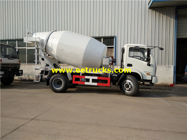 Yuejin Small Concrete Mixer Trucks