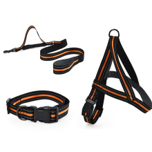 Adjustable Heavy Duty Pet Collars Reflective Puppy Walking Pet Collars For Dogs