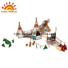Игровая площадка для слайдов и качелей