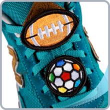 Модная вышивка Украшение обуви (с металлическим клипом)