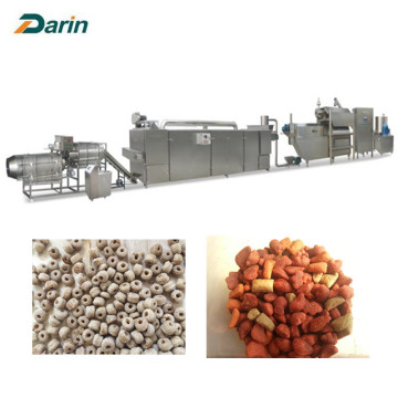 500kg / uur Dental Dog Pet Food Extrusion Line