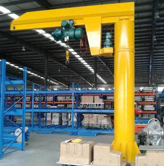 Light Duty 8 Tons Fixed Column Type Jib Crane With Cheap Price