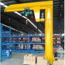 Wharf Mine Warehouse Slewing columna montada grúa pluma