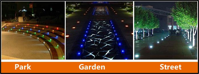 Lawn LED Underground light