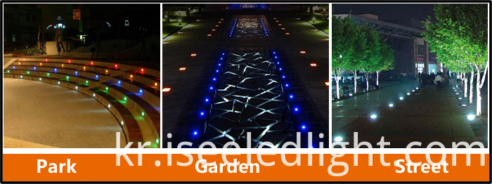 Lawn LED Underground light