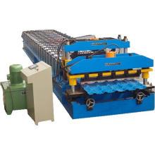 Hersteller-Preis-glasig-glänzende Dach-Rolle, die Maschine bildet
