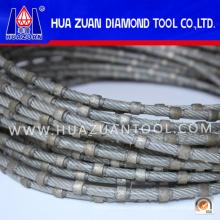 Inyección plástica del granito del alambre de Profilng del diamante de la alta calidad para la venta