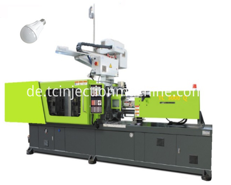 bulb cover injection molding machine