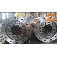 Sección de alimentación barril para maquinaria de procesamiento de plástico