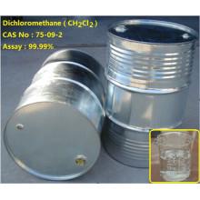 Buen precio ch2cl2, Cloruro de metileno El producto Excelente calidad 99.9% de pureza para el mercado de Singapur