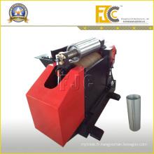 Machine à arrondi en feuille d'acier 2 rouleaux pour compresseur d'air Tambour