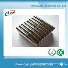 Rare Earth Customized Ni-Cu-Ni Cylinder Magnet