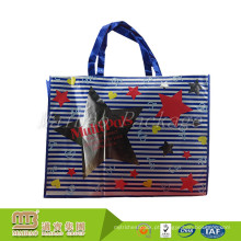 Projete o saco não tecido de compra livre dos PP do estilo AZO da forma com laminação lustrosa