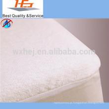 Conjunto de folha de pano de terry atacado fábrica conjunto capa de colchão de folha